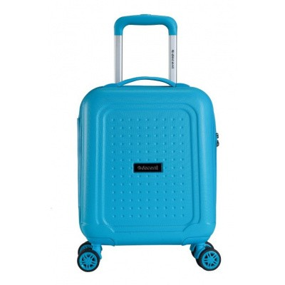 Foto van Decent Maxi-Air Spinner Handbagage Trolley 42 cm RK-7229A Blauw