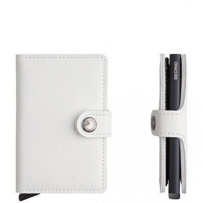 Foto van Secrid Miniwallet Limited White-Black