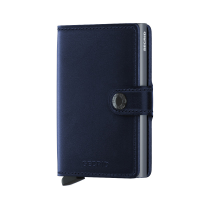 Foto van Secrid Miniwallet Navy Polished