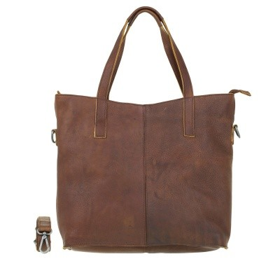 Foto van DSTRCT Raider Road 361230 Shopper Cognac