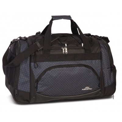 Keanu Sports Bag 70700 Grey Dots