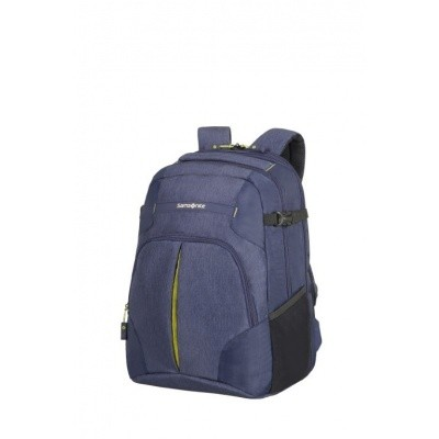 Foto van Samsonite Rewind Laptop Backpack L Exp. Dark Blue