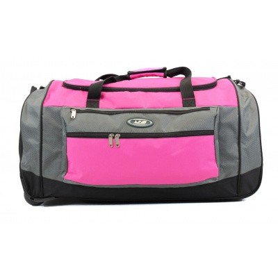 Line Travel Daley Wieltas Grey/Pink