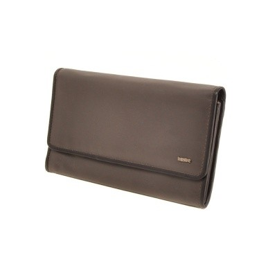 Berba Soft 001-403 Ladies Wallet Grey-Black