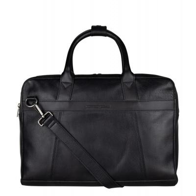 Foto van Cowboysbag Men Laptop Bag Ross 15.6 inch 2291 Black