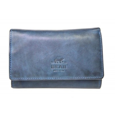 Bear Design Dames Portemonnee CL15572 Blauw