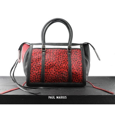 Paul Marius LeRive Droite M Leopard Black/Red