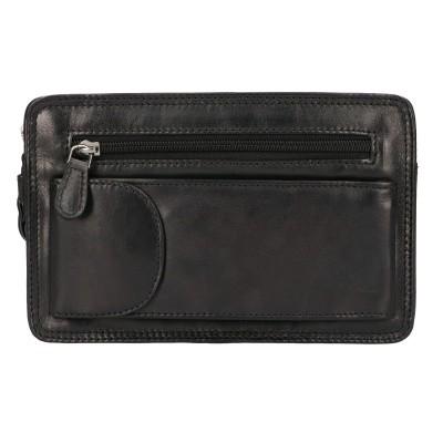 Foto van Leather Design Polstas Dubbel CC 1337 A Zwart