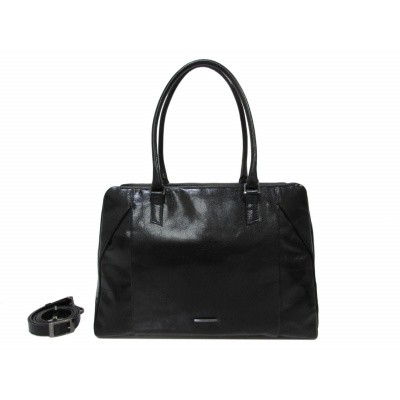 Foto van Claudio Ferrici Pelle Vecchia Business Bag 22062 Black