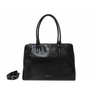 Claudio Ferrici Pelle Vecchia Business Bag 22062 Black
