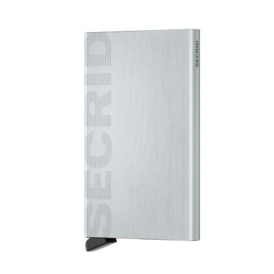 Foto van Secrid Cardprotector Laser Logo Brushed Silver