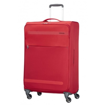 Foto van American Tourister Herolite Super Light Spin. 74cm Formula Red