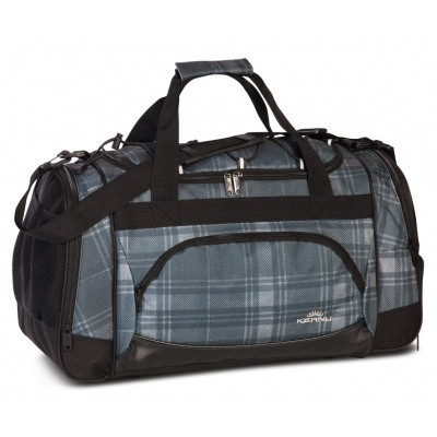 Foto van Keanu Sports Bag 70700 Grey Plaid