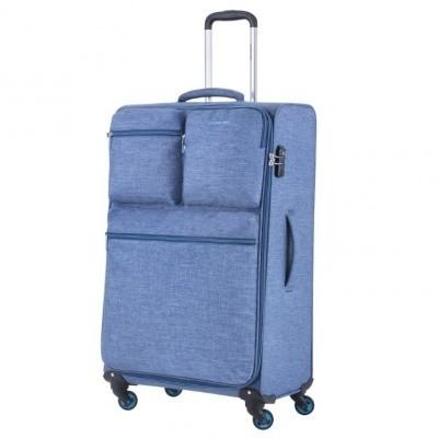 Foto van CarryOn Trolley 79 cm Cargo Blue