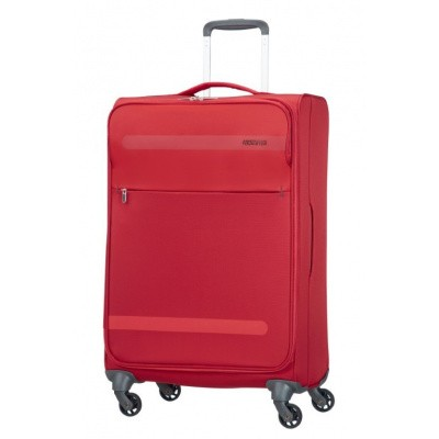 Foto van American Tourister Herolite Super Light Spin. 67cm Formula Red