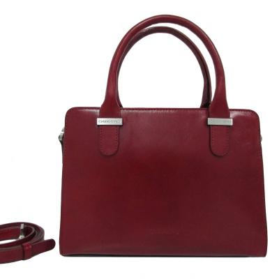 Foto van Claudio Ferrici Classico Handbag 18034 Red