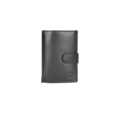 Foto van Leather Design Beugel Portemonnee HI 582 Zwart