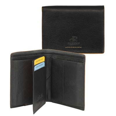 dR Amsterdam Wallet CC Comp 91513 Black