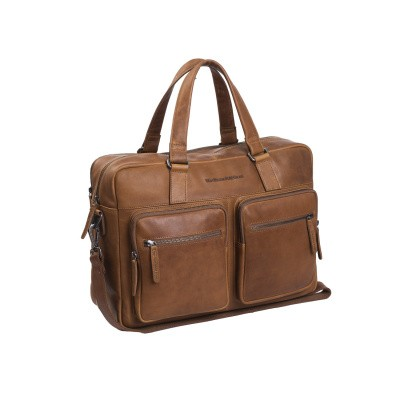 Foto van Chesterfield Business tas 'Misha' C40.1034 Cognac