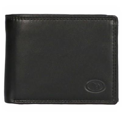 Foto van Leather Design Billfold AH 5009 Zwart