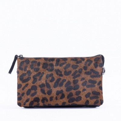 Foto van DSTRCT Dames Crossbody 157890 Black Dark Leopard