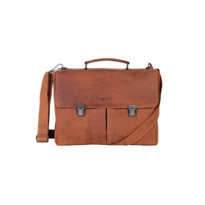 Foto van DSTRCT Business Bag 076220 Cognac