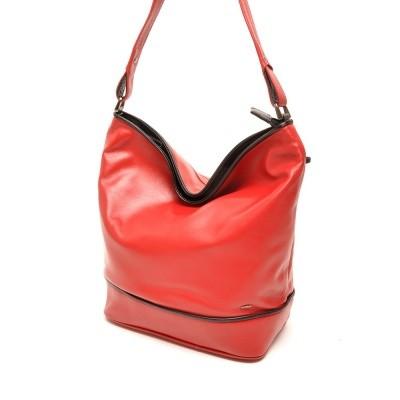Foto van Berba Soft 005-850 Handbag Red-Black