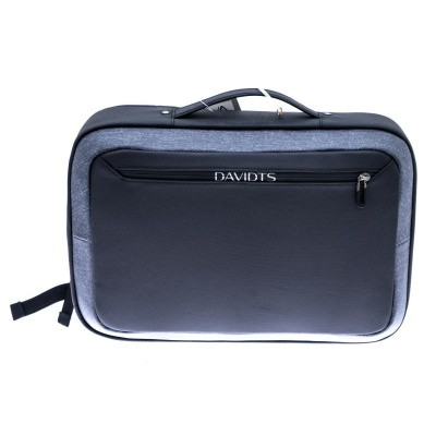 Foto van Davidts Urban Traveler Briefcase/Backpack 250125 Zwart