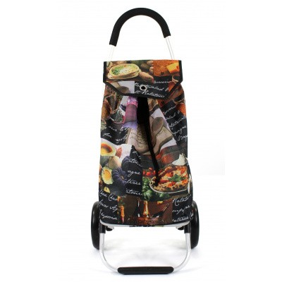 Foto van Awesome Bags Foldable Shopping Trolley M18N276 Pasta Print