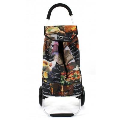Foto van Awesome Bags Foldable Shopping Trolley M18N276 Pasta Print