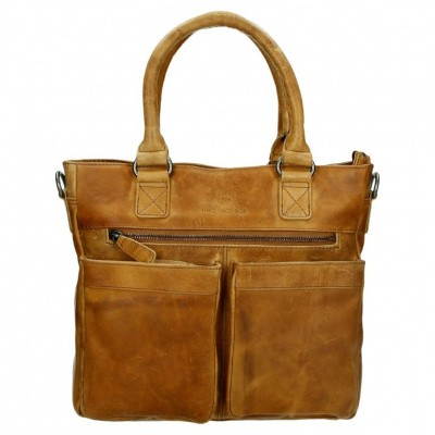 Foto van MicMacBags Shopper 16187 Cognac