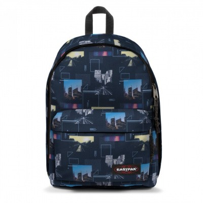 Eastpak OUT OF OFFICE Rugtas Shapes Blue