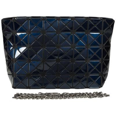 Foto van Malique Geometrical Clutch Donker Blauw