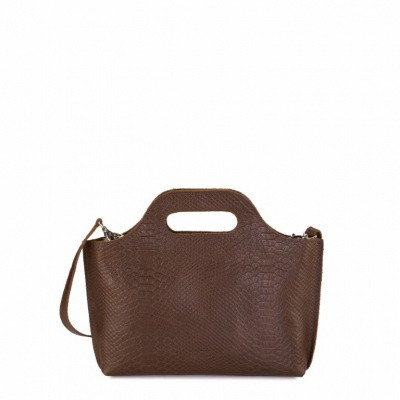 Foto van MYOMY MY CARRY BAG Mini - Anaconda Brandy