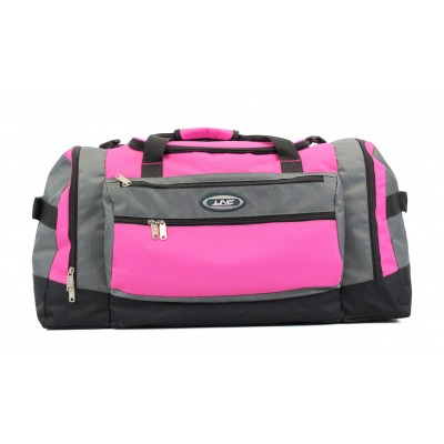 Line Travel Darius Weekend/Sporttas Grey/Pink