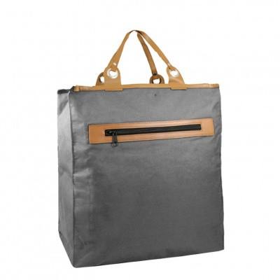Foto van Piace Molto Canvas Boodschappen Shopper 31.1053 Grey