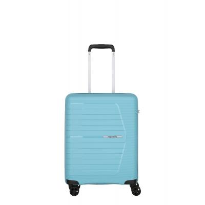 Travelite NUBIS 4 Wiel Trolley S 076147 Licht Blauw