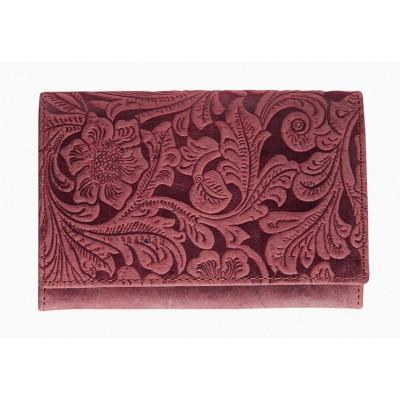 Maverick Friona Dames Portemonnee RFID Rood