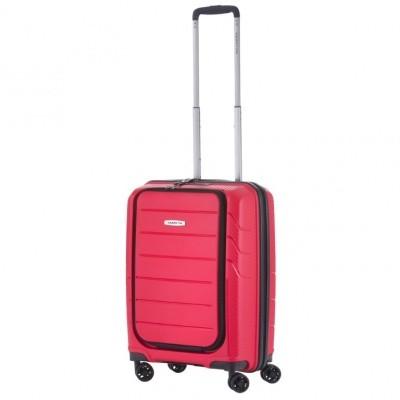 Foto van CarryOn Trolley 55 cm Mobile Worker Red