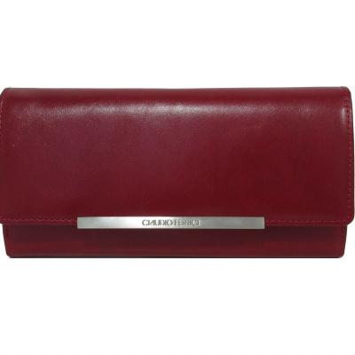 Claudio Ferrici Classico Wallet 18905 Red