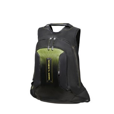 Foto van Samsonite Paradiver X Diesel Laptop Backpack L Black/Yellow
