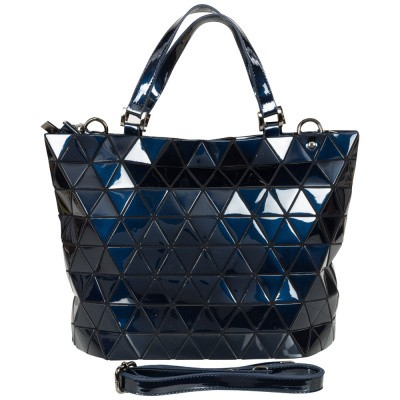 Foto van Malique Geometrical Handtas Groot Donker Blauw