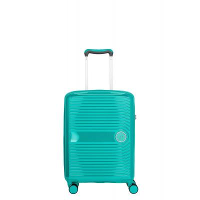 Foto van Travelite Ceris 4 Wiel Trolley S Handbagage 075647 Groen