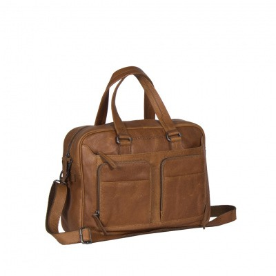 Chesterfield Business tas 'Samual' C40.1011 Cognac