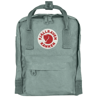 Foto van Fjallraven ​​Kanken Mini Backpack F23561 Frost Green