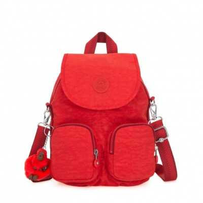 Foto van Kipling Firefly Up Rugtas Active Red