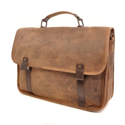 Barbarossa Ruvido 826-141 Briefcase Coffee