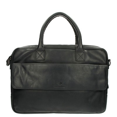 MicMacBags Laptoptas 16188 Black