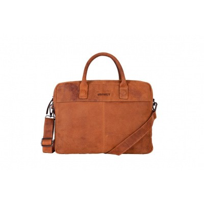 Foto van DSTRCT Business Bag 076520 Cognac