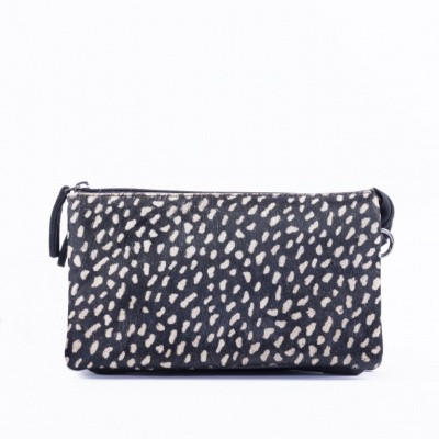 Foto van DSTRCT Dames Crossbody 157890 Black Dots Reversed